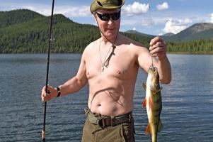 «Вопрос про рыбу важный!» - Президент России Владимир Путин.